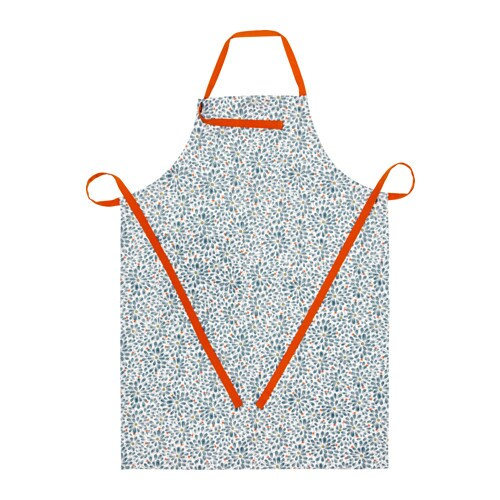 IKEA FINSTILT apron With practical pockets for small items. Adjustable neck-band to fit everybody.