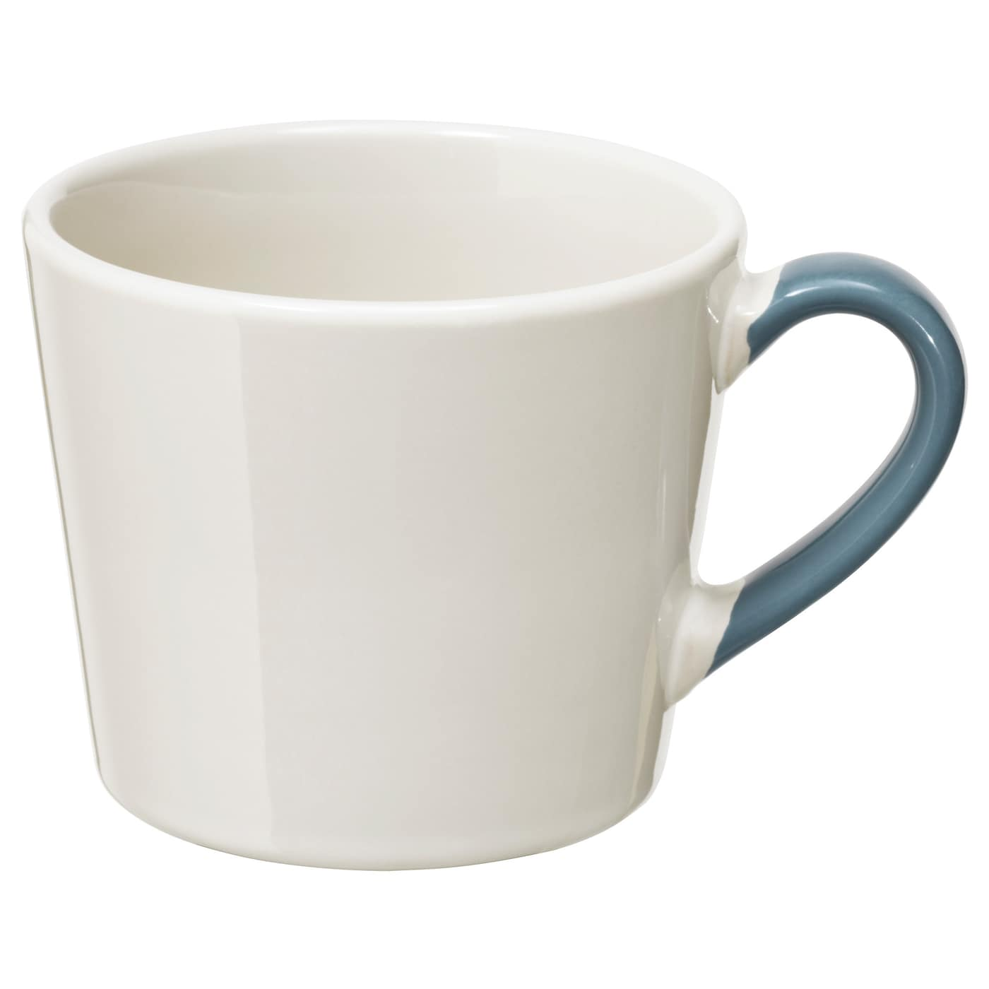 Finstilt Mug Off White Blue 36 Cl Ikea