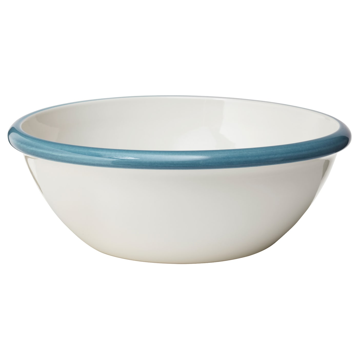 IKEA FINSTILT serving bowl Perfect for bread, a large salad or as a decorative fruit bowl.