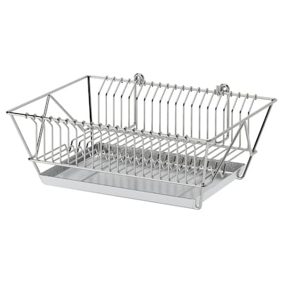 FINTORP Dish drainer, nickel-plated, 37.5x29x13.5 cm