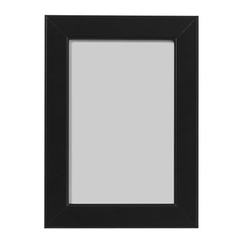 fiskbo frame black 10 x 15 cm ikea. Black Bedroom Furniture Sets. Home Design Ideas