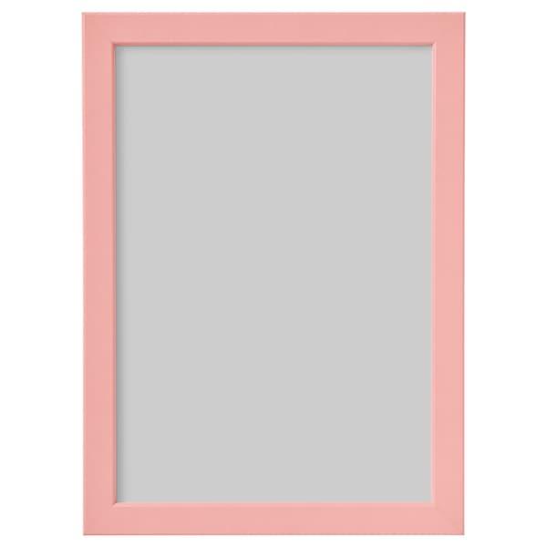 FISKBO Frame, light pink, 21x30 cm