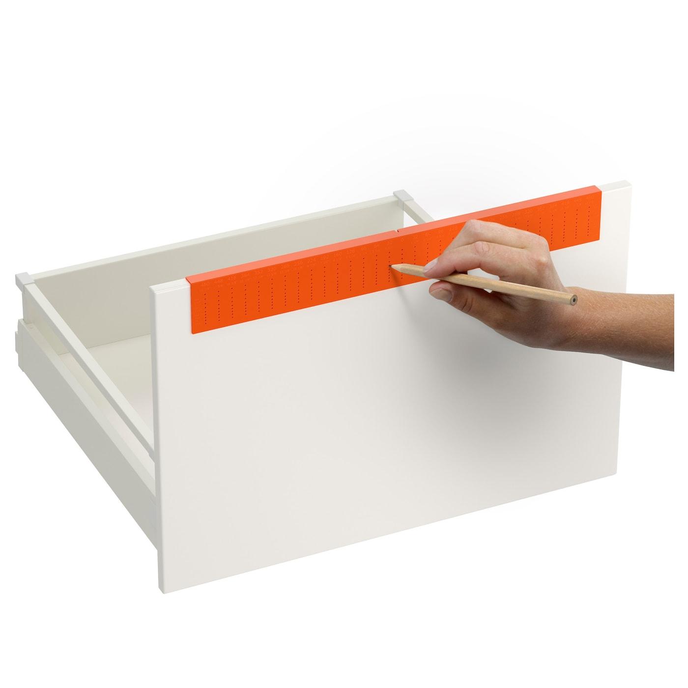 Fixa drill template orange ikea for Ikea location emplacement