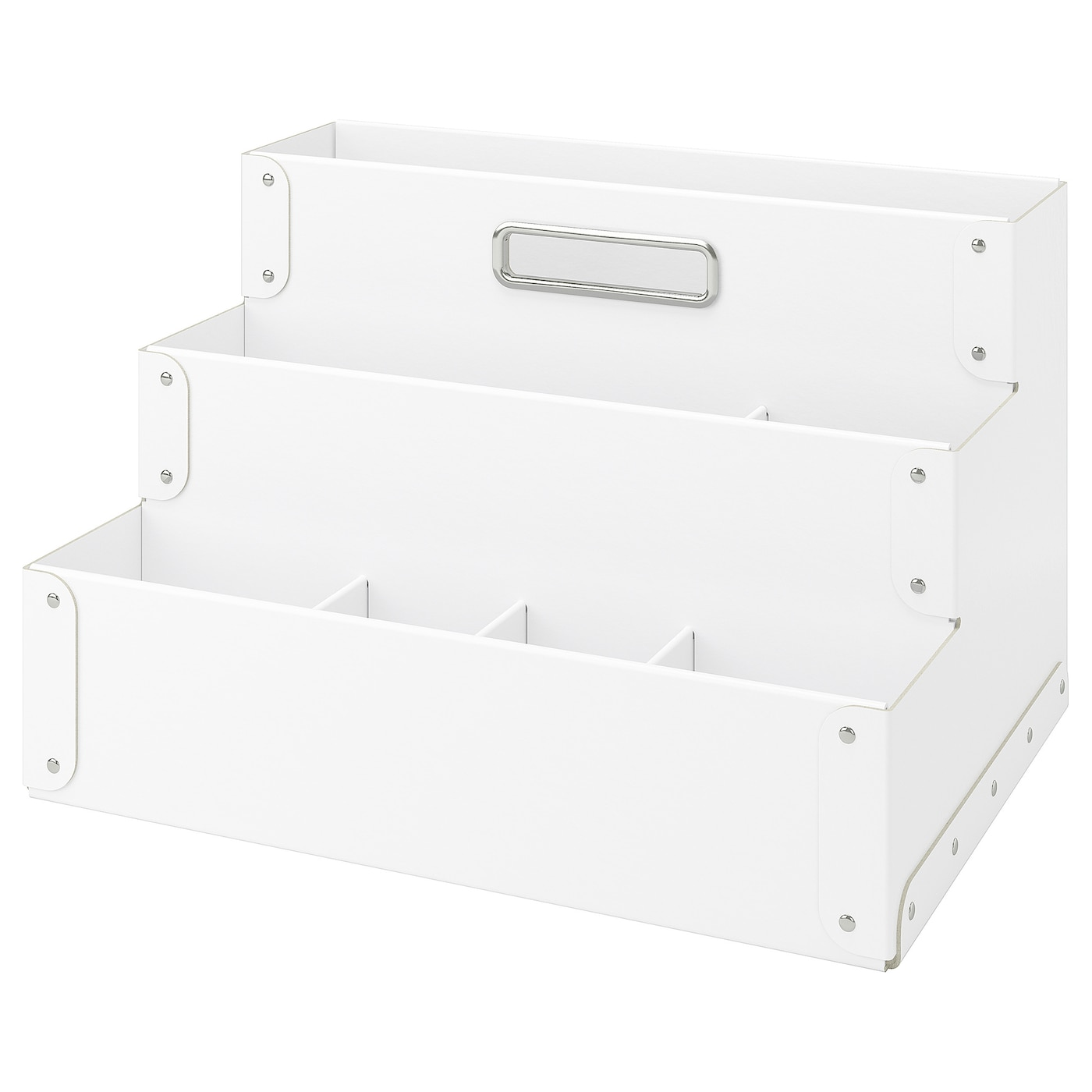 IKEA FJÄLLA desk organiser Easy to pull out and carry as it has a handle.