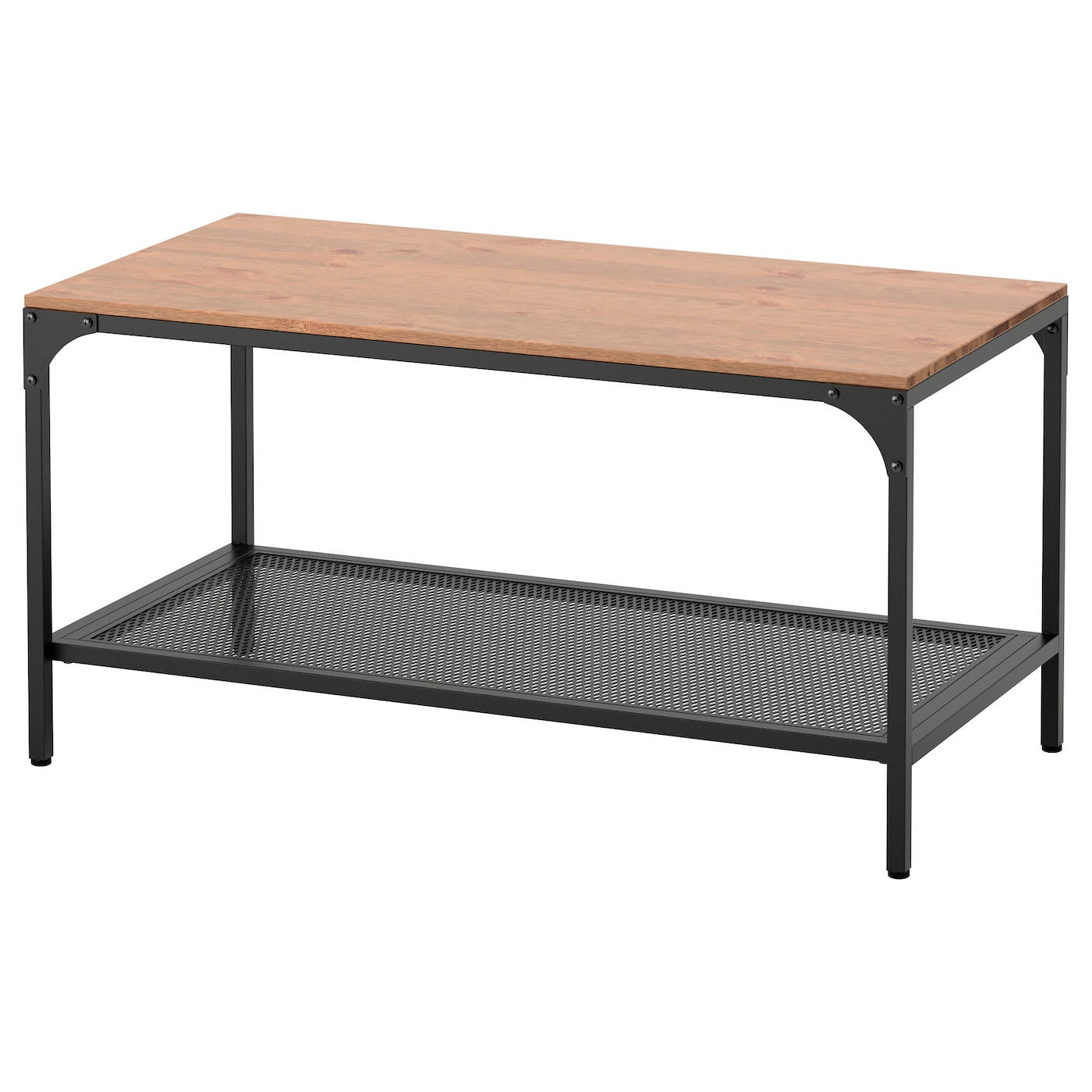 Fj llbo coffee table black 90x46 cm ikea for Table 4 personnes ikea