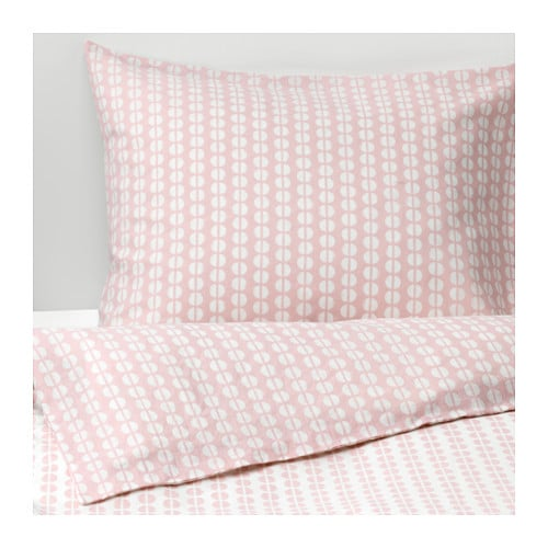 Fjallvedel Quilt Cover And 2 Pillowcases Pink 200 X 200 50 X 80 Cm