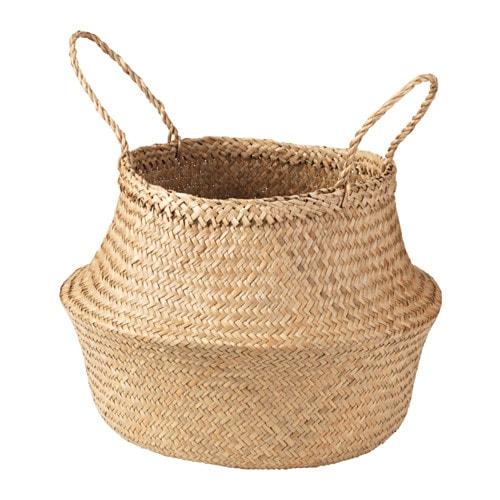 fl dis basket seagrass 25 cm ikea. Black Bedroom Furniture Sets. Home Design Ideas