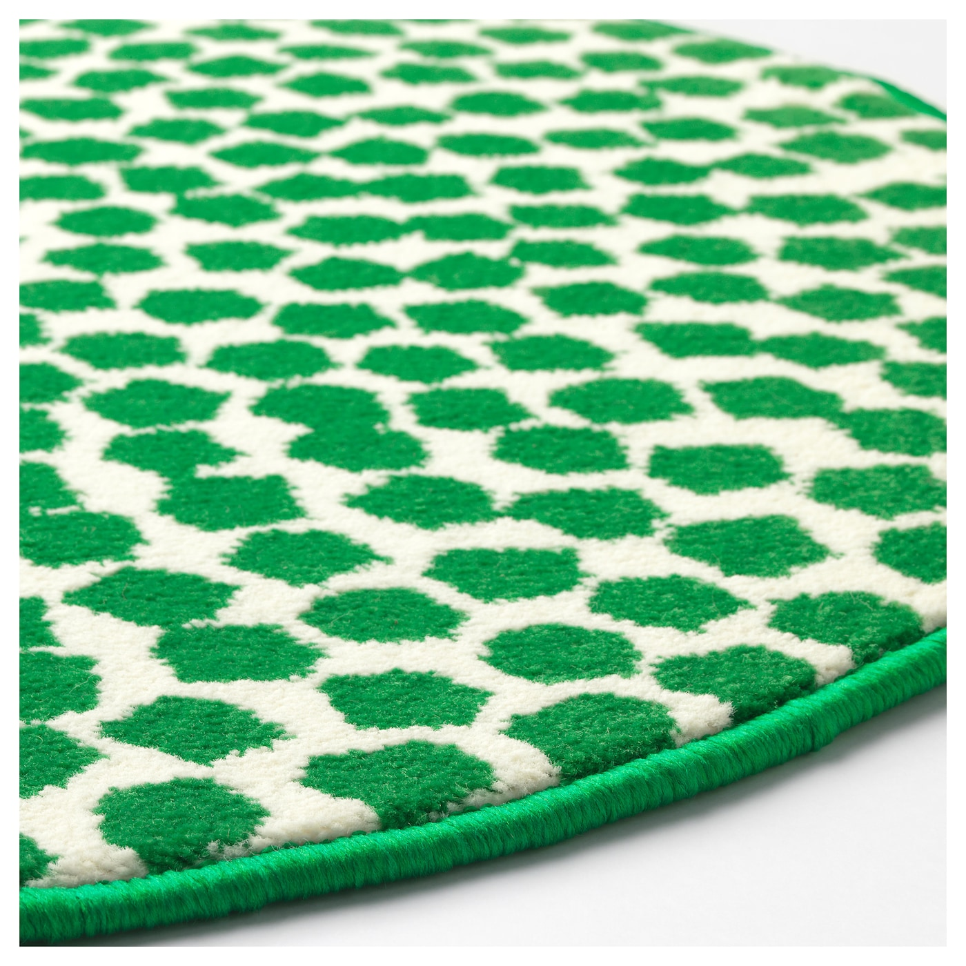 Fl ng rug low pile white green 80 cm ikea for Ikea rugs
