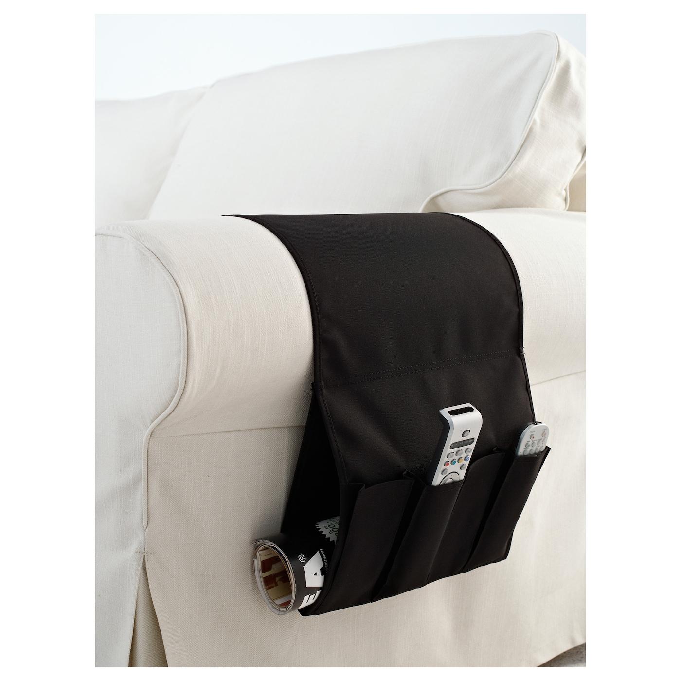 FLÖRT Remote control pocket Black - IKEA