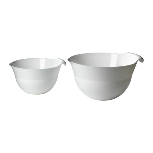 FLÄCKIG Mixing bowl, set of 2 IKEA