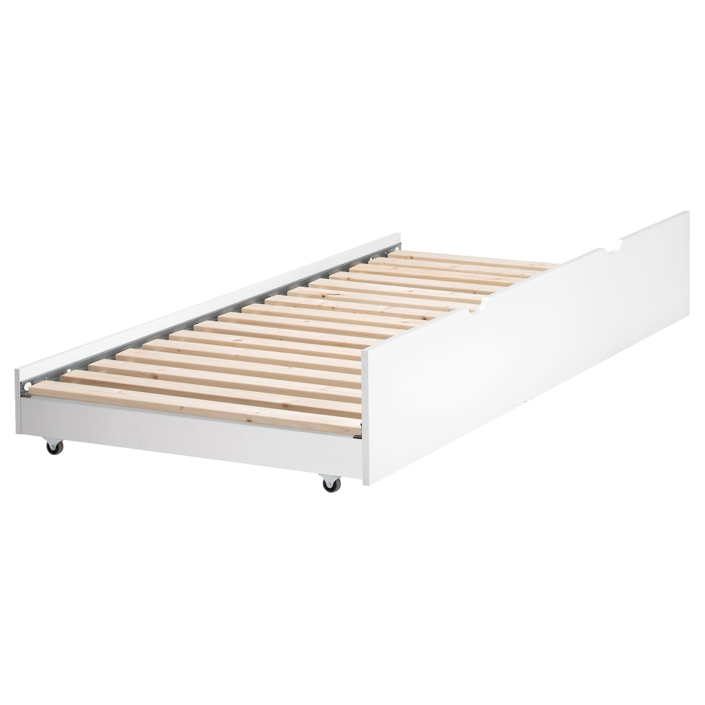 flaxa underbed white 90x200 cm ikea. Black Bedroom Furniture Sets. Home Design Ideas