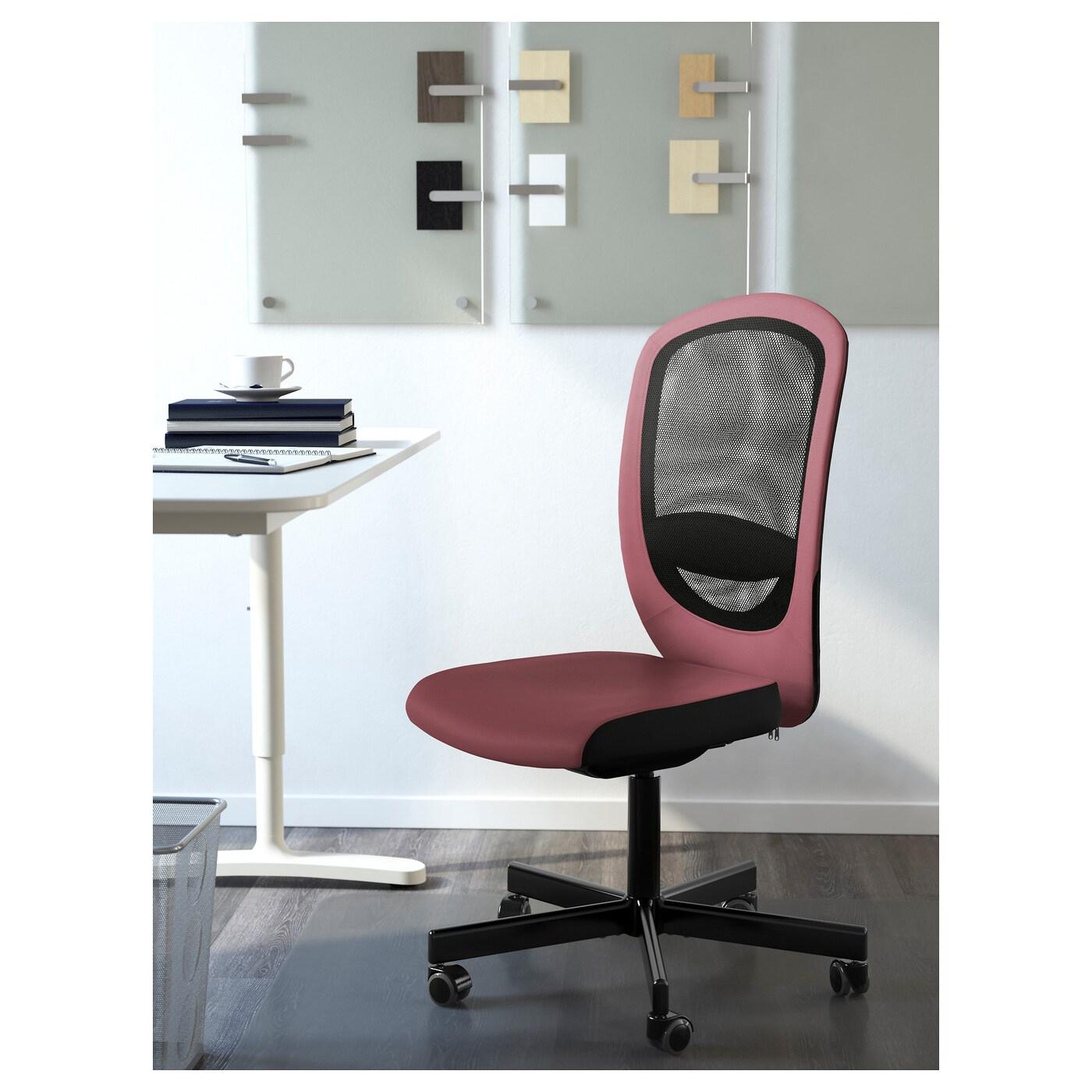 Ikea Flintan Swivel Chair You Sit Comfortably Since The Is Adjule In Height
