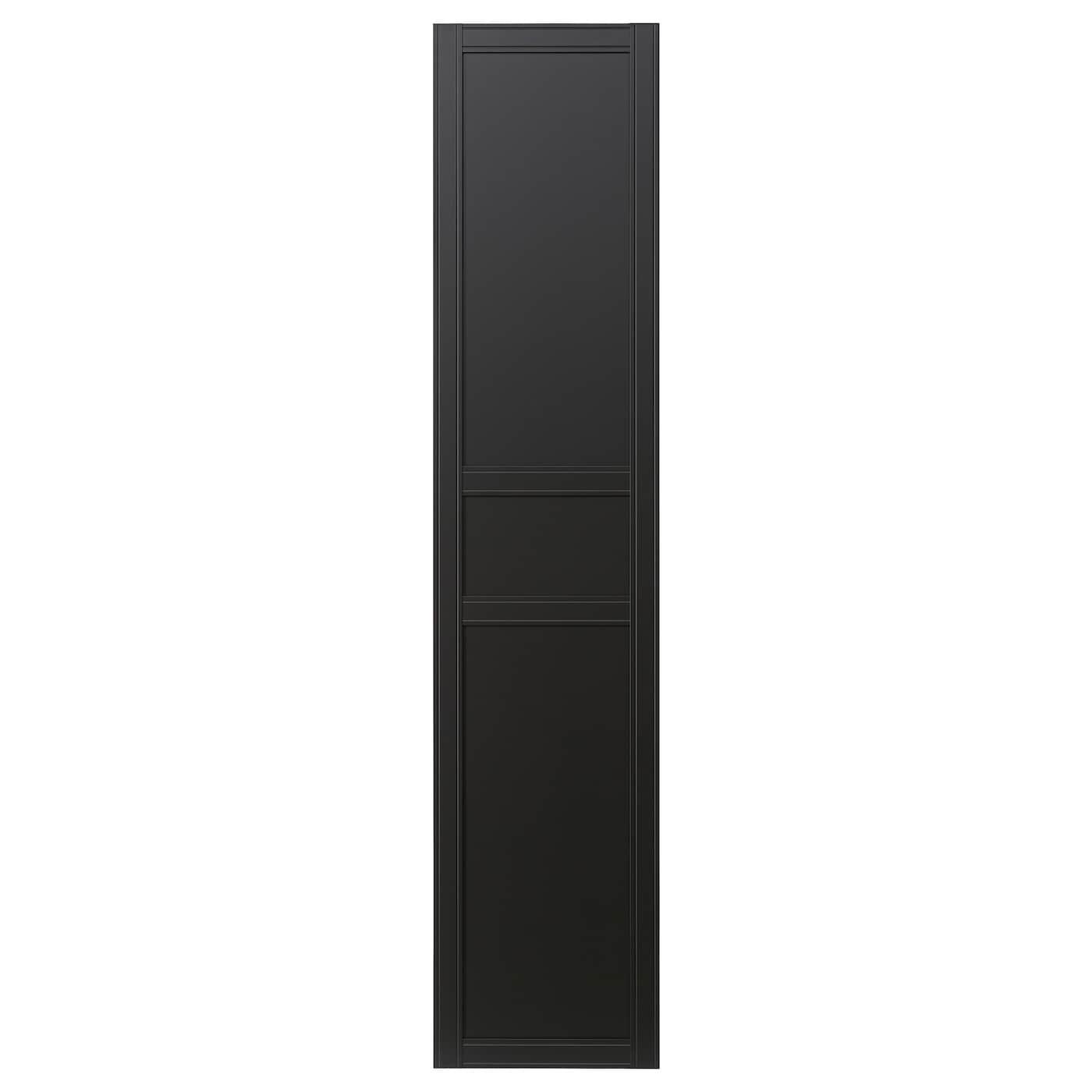 Flisberget door anthracite 50x195 cm ikea for Kommode 40 cm tief ikea