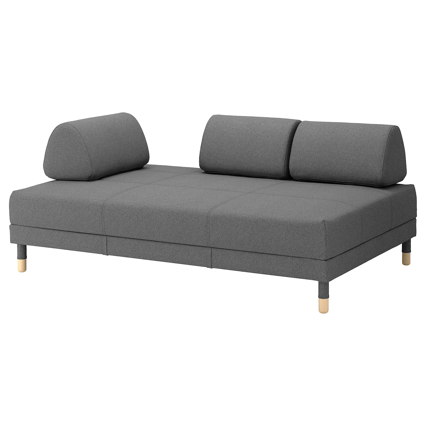 flottebo cover sofa bed lysed dark grey 120 cm ikea. Black Bedroom Furniture Sets. Home Design Ideas
