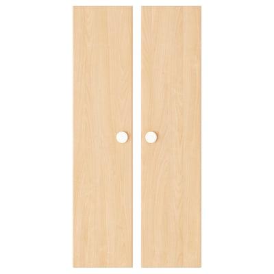 FÖLJA Door, birch, 60x128 cm