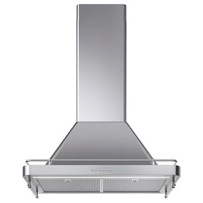 FÖLJANDE Wall mounted extractor hood, stainless steel