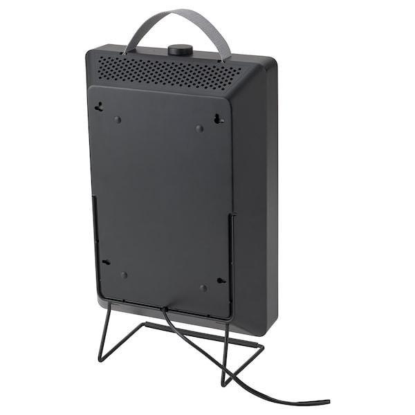 FÖRNUFTIG Air purifier, black, 31x45 cm