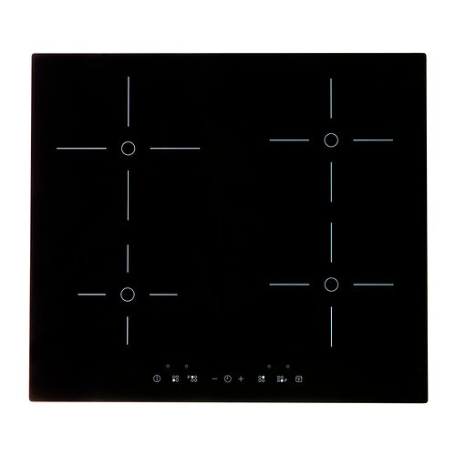 FOLKLIG Induction hob with booster IKEA 5 year guarantee.   Read about the terms in the guarantee brochure.