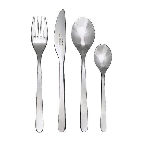F 214 Rnuft 24 Piece Cutlery Set Ikea