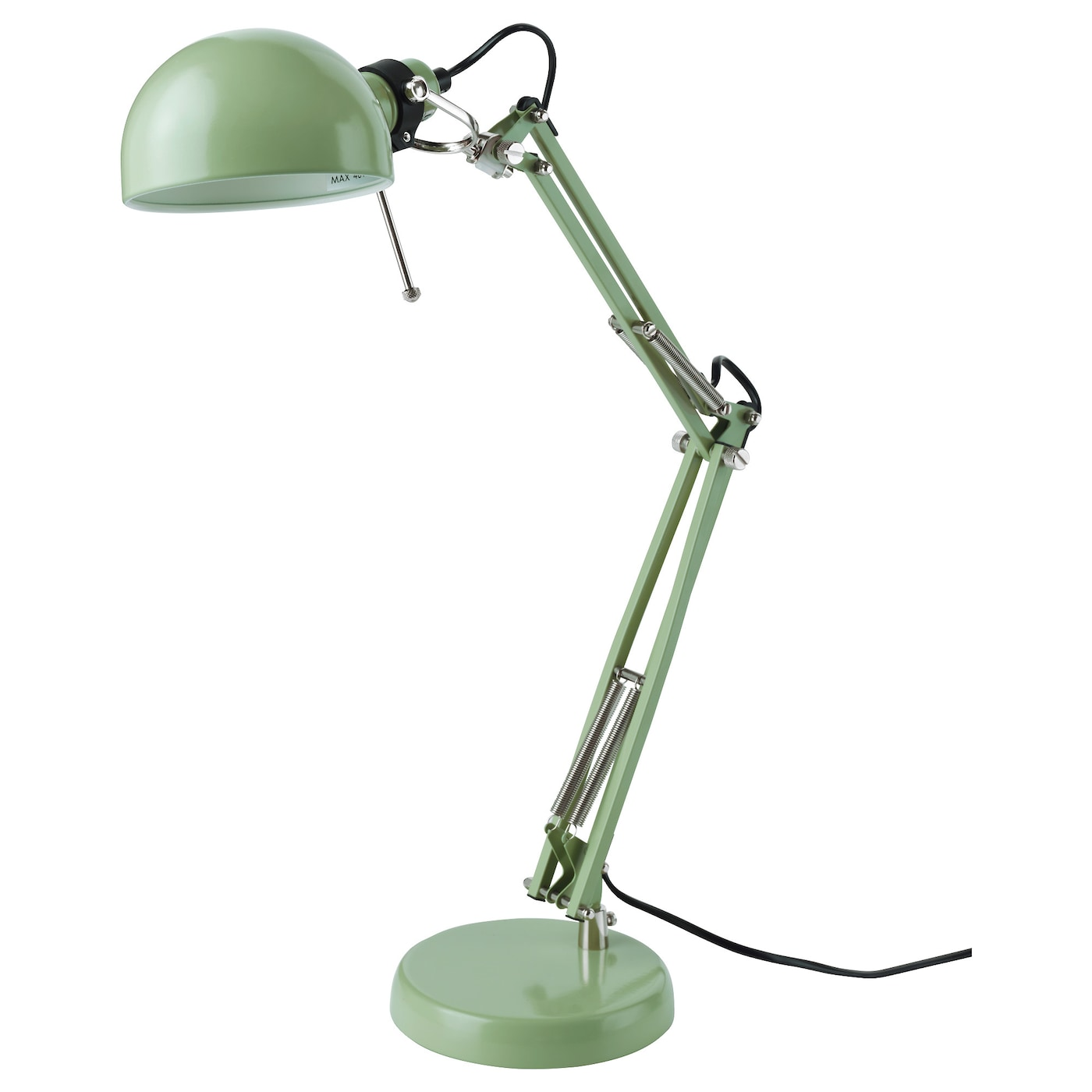 Fors work lamp green ikea ikea fors work lamp provides a directed light that is great for reading aloadofball Image collections