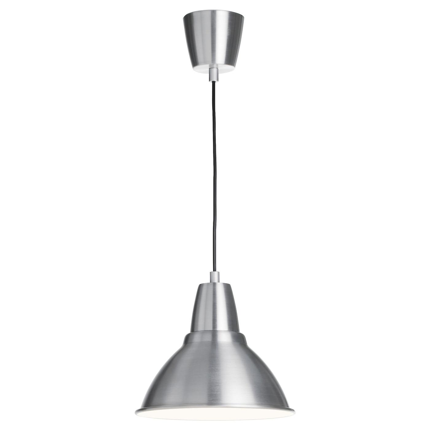 Foto pendant lamp aluminium 25 cm ikea for Ikea lampadario camera
