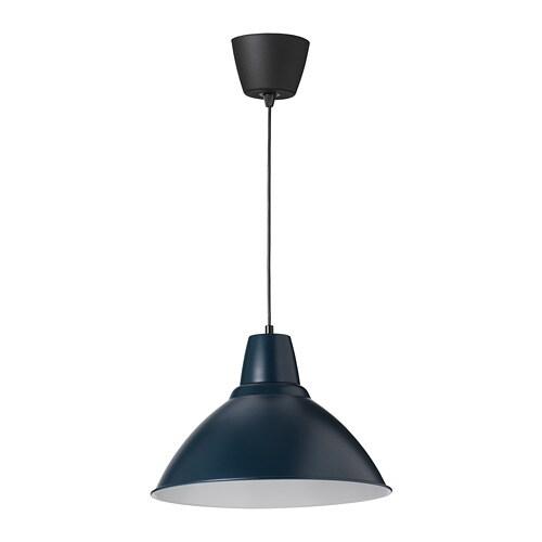 Kitchen Light Fittings Ikea: FOTO Pendant Lamp Dark Blue 38 Cm