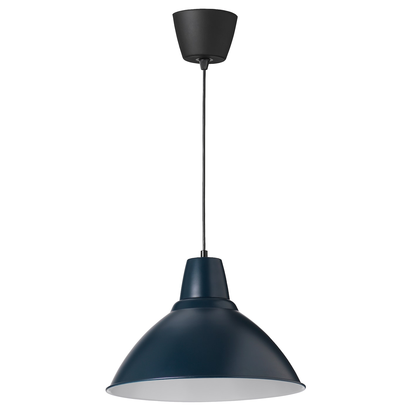 foto pendant lamp dark blue 38 cm ikea. Black Bedroom Furniture Sets. Home Design Ideas