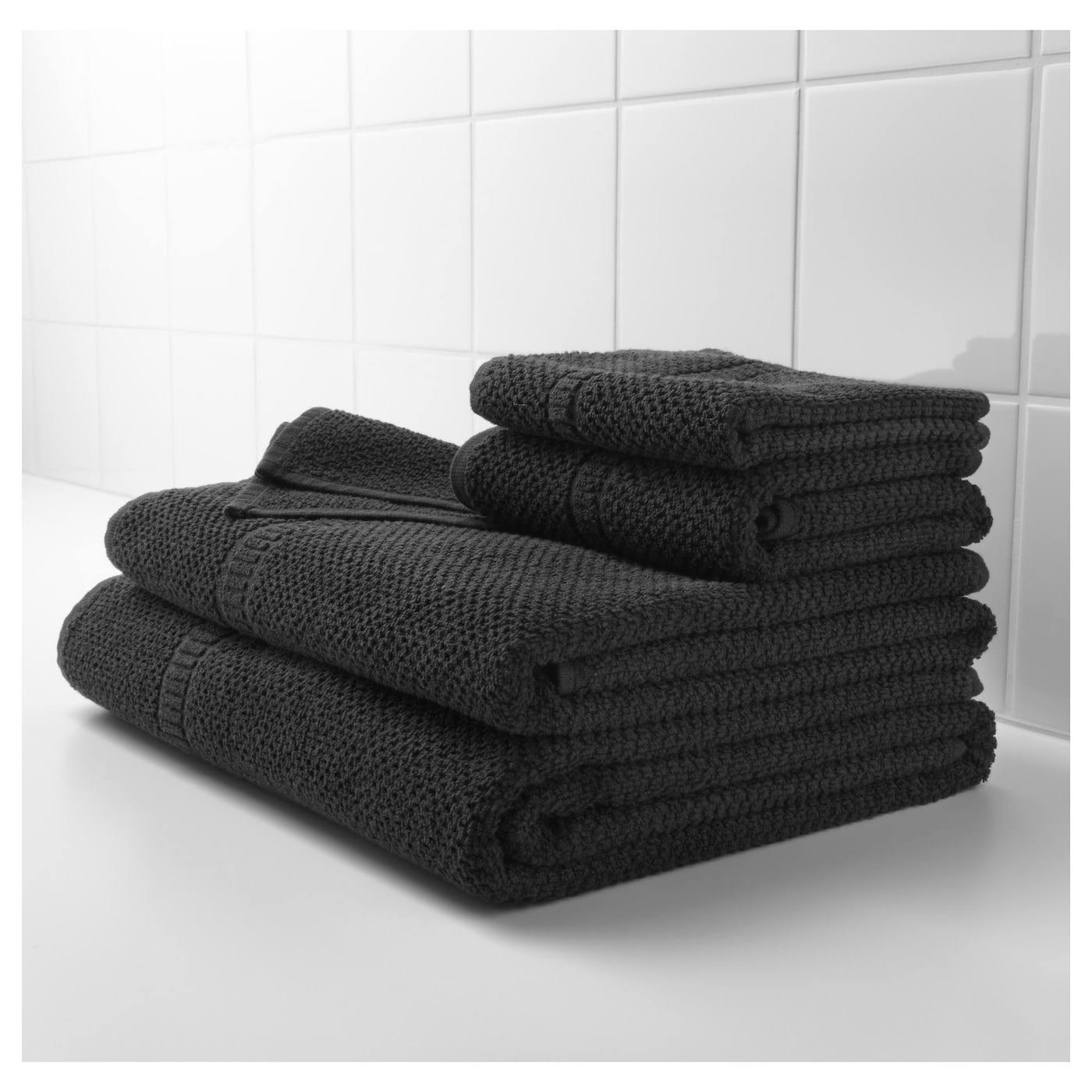 ikea frjen bath sheet the long fine fibres of combed cotton create a soft and