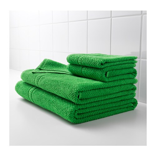 Ikea fr 196 jen bath towel the long fine fibres of combed cotton create