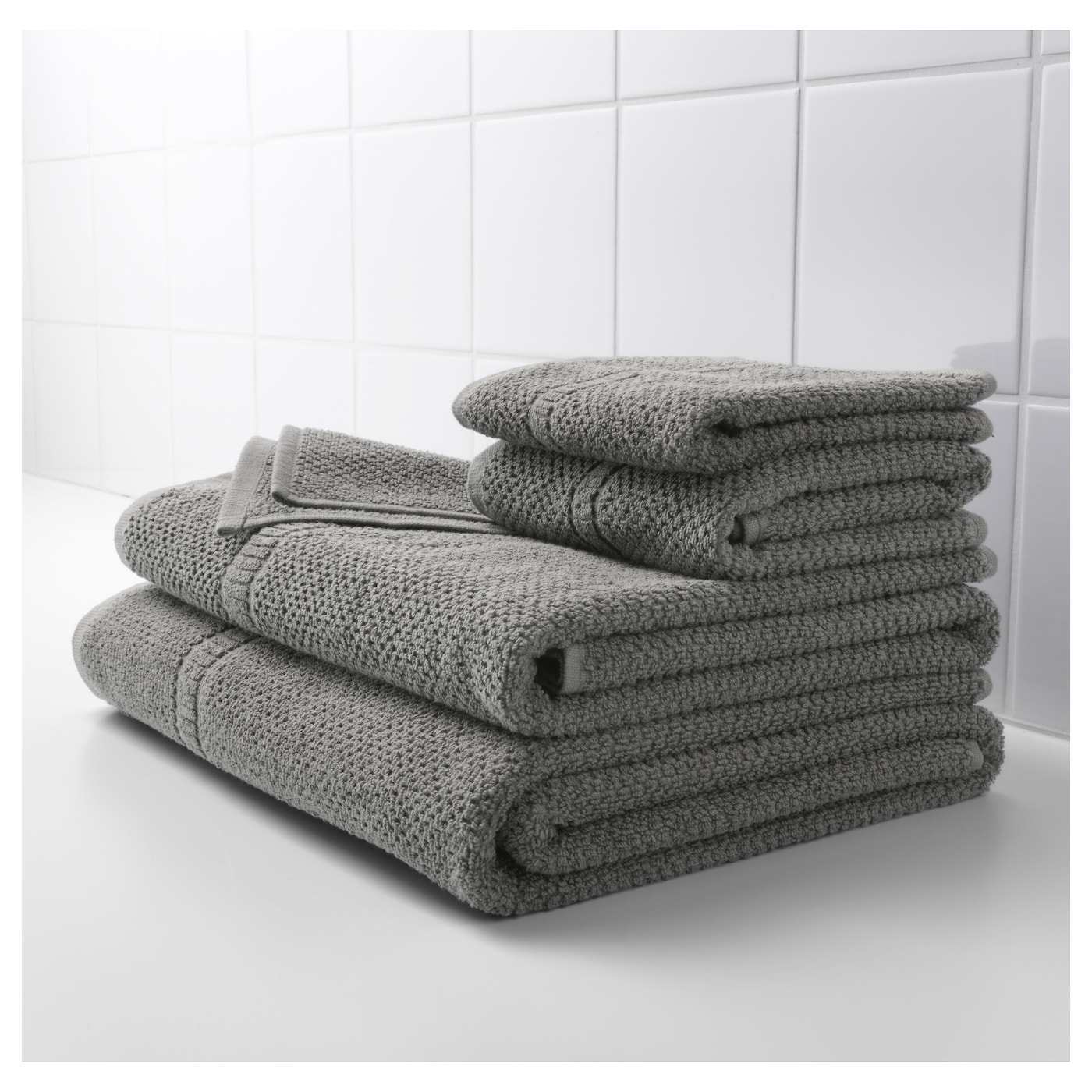 hand towel. IKEA FR JEN Hand Towel The Long  Fine Fibres Of Combed Cotton Create A Soft And Hand Grey 50x100 Cm