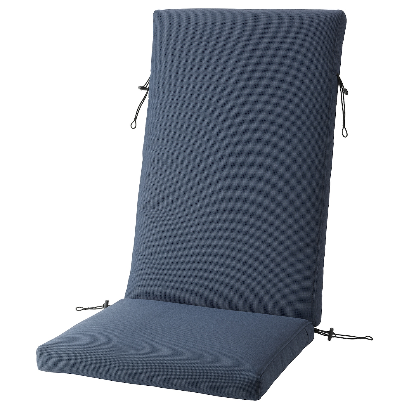IKEA FRÖSÖN/DUVHOLMEN seat/back cushion, outdoor The zipper makes the cover easy to remove.