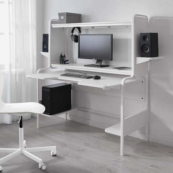 Fredde White Desk Ikea