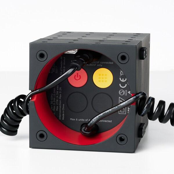 FREKVENS accessories, LED spotlight set of 4 red