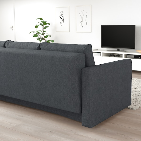 Miraculous 3 Seat Sofa Bed Friheten Hyllie Dark Grey Gmtry Best Dining Table And Chair Ideas Images Gmtryco