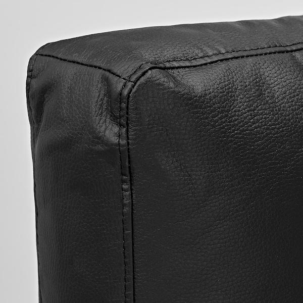 FRIHETEN Cushion, Bomstad black, 67x47 cm