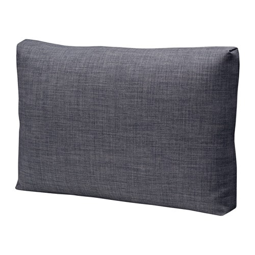Friheten Cushion Skiftebo Dark Grey 67x47 Cm Ikea