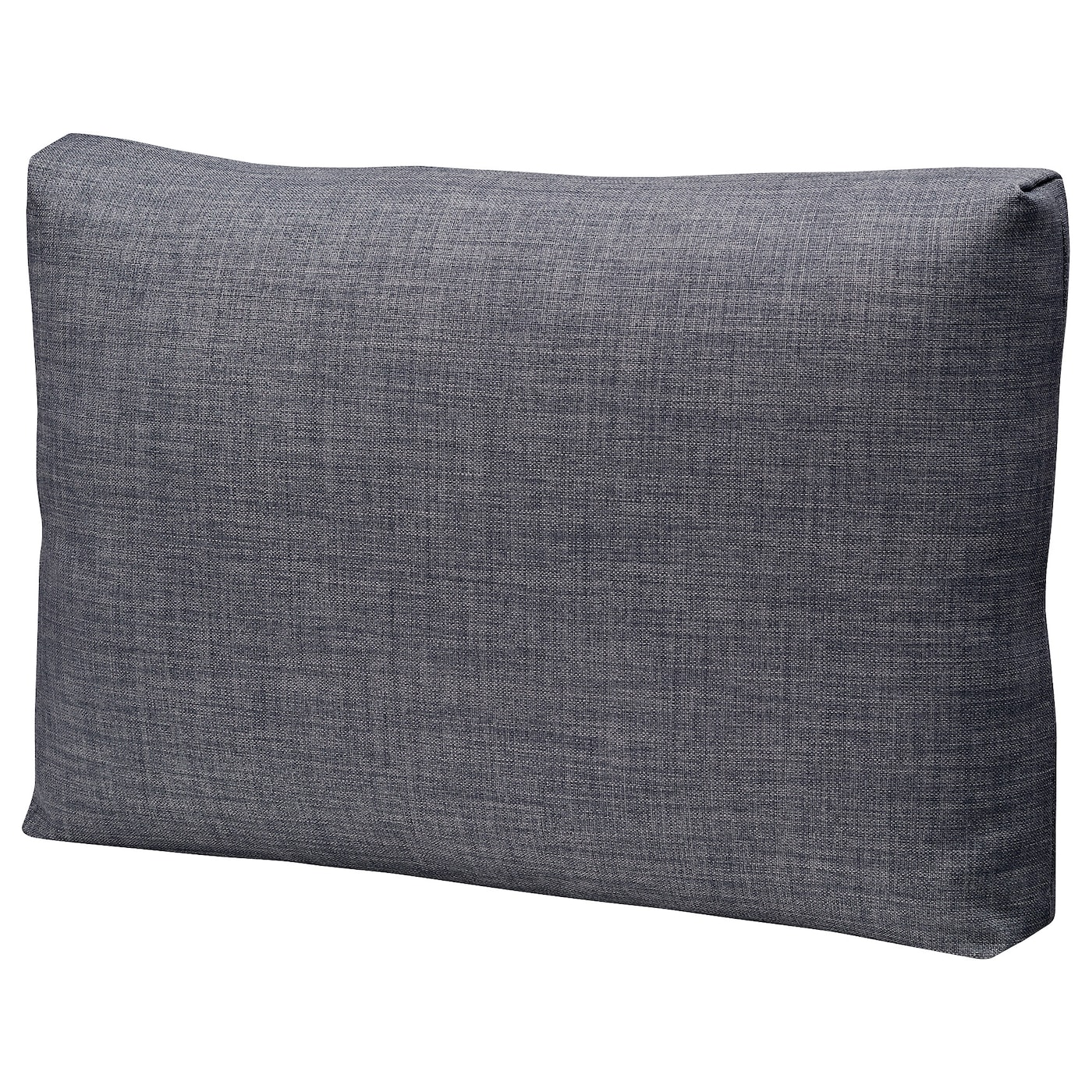 IKEA FRIHETEN cushion The polyester filling holds its shape and gives your body soft support.