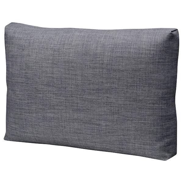 FRIHETEN Cushion, Skiftebo dark grey, 67x47 cm