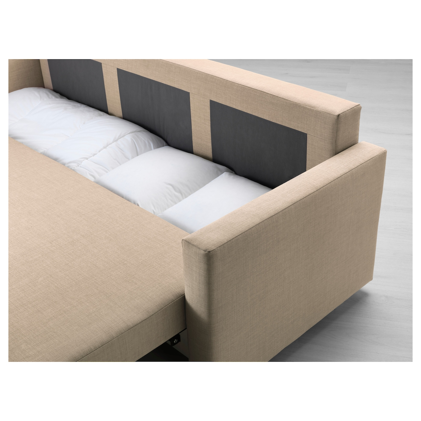 friheten three seat sofa bed skiftebo beige ikea. Black Bedroom Furniture Sets. Home Design Ideas