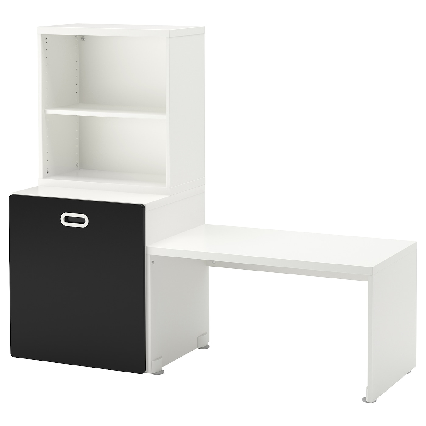 IKEA FRITIDS/STUVA table with toy storage