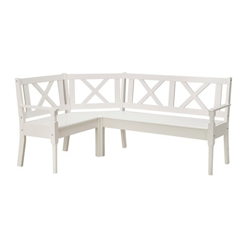 Frittorp Corner Bench White Ikea