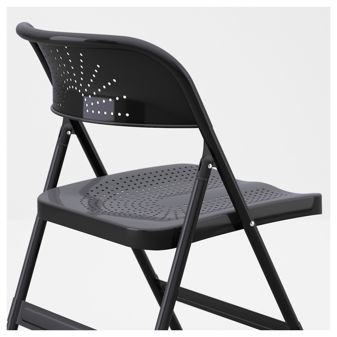 FRODE Folding chair Dark grey IKEA