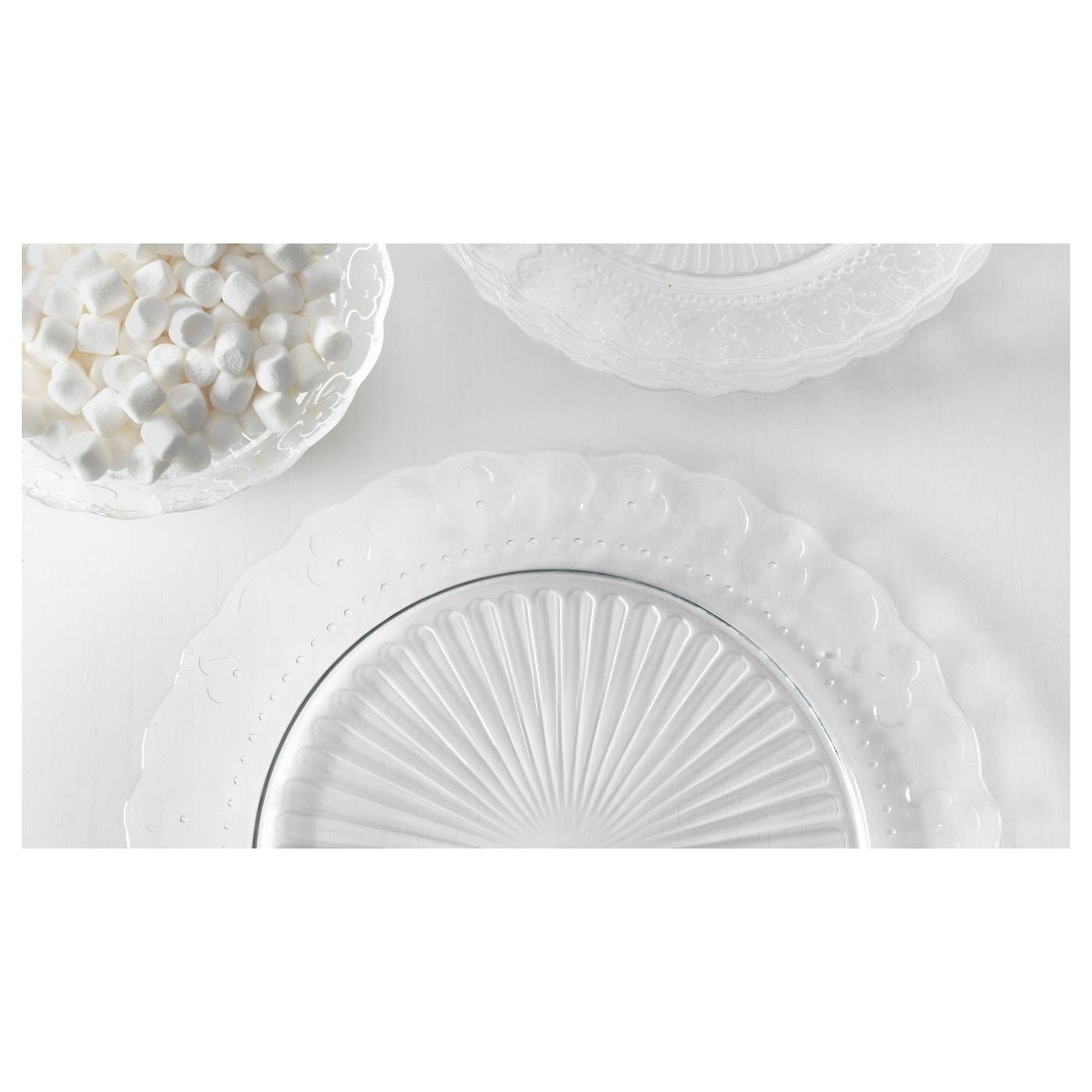 IKEA FRODIG side plate Matches well with other dinnerware and materials.