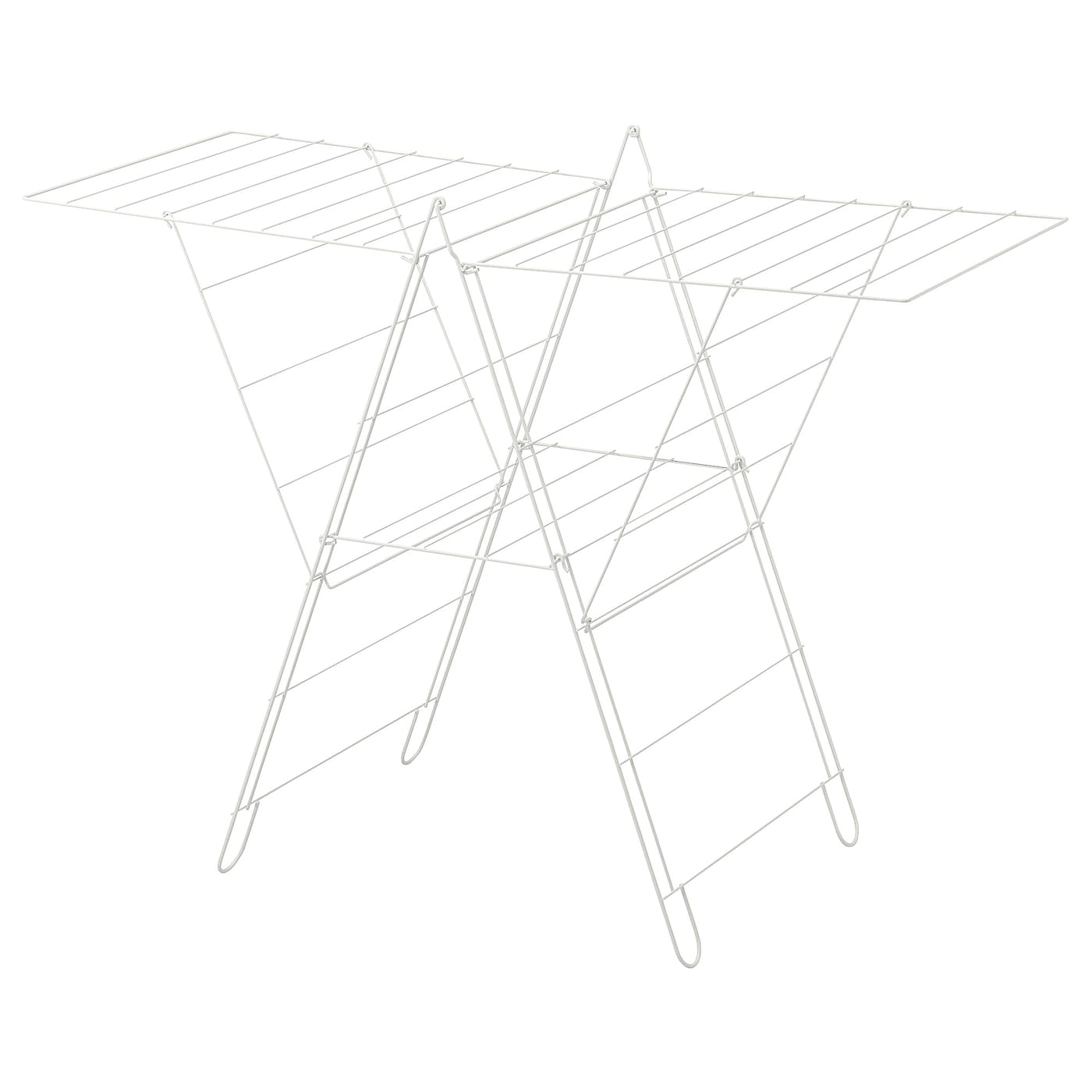 IKEA FROST drying rack, in/outdoor Simple to fold up and put away.
