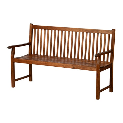 IKEA FRUHOLMEN bench with backrest