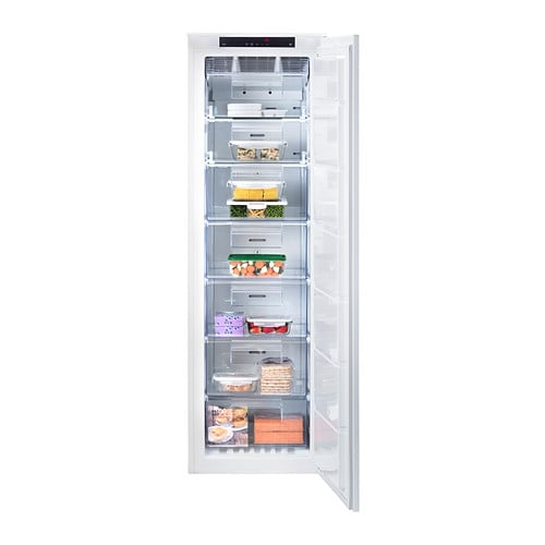 frysa integrated freezer a no frost white 204 l ikea. Black Bedroom Furniture Sets. Home Design Ideas