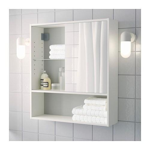 fullen mirror cabinet white 60x67 cm ikea