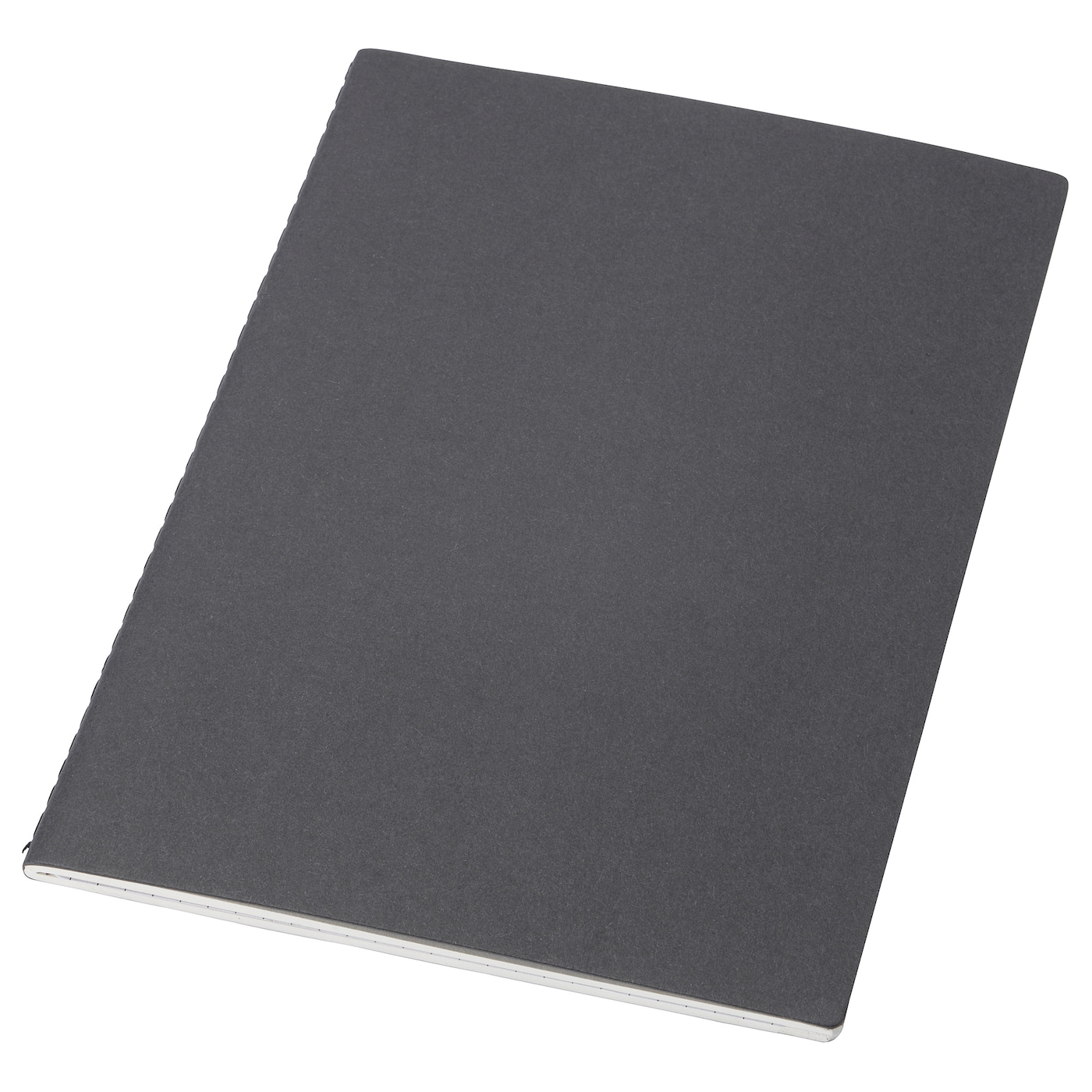 IKEA FULLFÖLJA note-book The notebook's shape lasts longer thanks to the rounded corners.