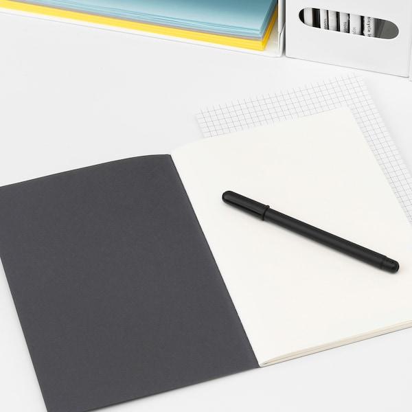 FULLFÖLJA Note-book, black, 21x15 cm