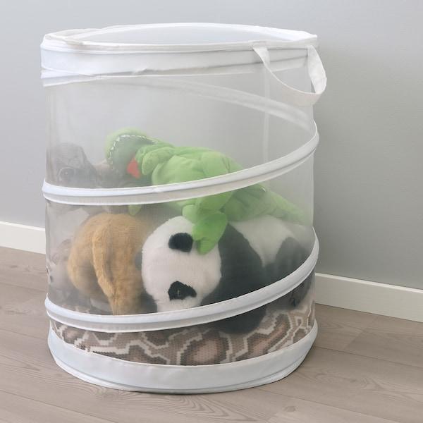 FYLLEN laundry basket white 50 cm 45 cm 79 l